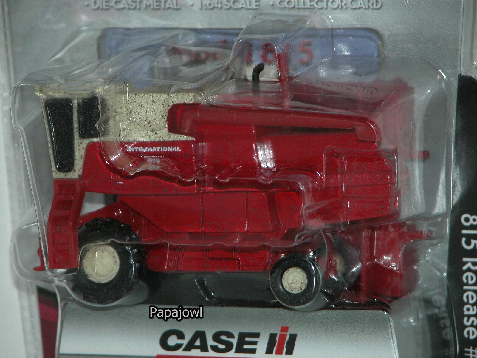 Ertl Premiere Case IH International Harvester MUDDY DIRTY COMBINE 815 #16 1:64HR
