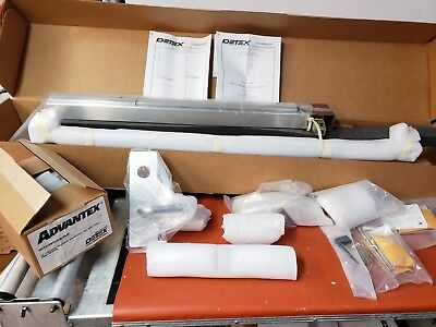 Detex Advantex 2008TA Surface Vertical Rod Exit Device W/ Outside Trim RHR Rhr Vertical Rod