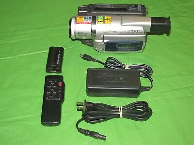 Sony Handycam DCR-TRV520 Digital 8 Camcorder - Record Transfer Watch Video8 Hi8