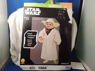 Dress Up Comic Con (New Disney Star Wars Yoda Costume Toddler 3T/4T  Comic Con Cosplay Dress Up )