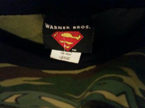 T Shirt Super Man Size Large Camo - $75.00