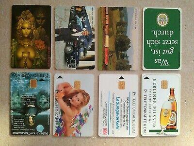 TK Telefonkarten Phonecard Deutschland O Karte 4 Stück Berliner Pils DB MCM voll