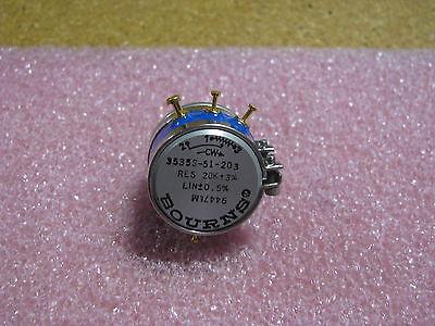 Bourns Variable Resistor 3535s-51-203-20k Res 20k - 3