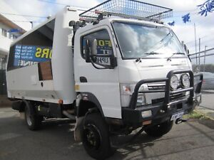 "MITSUBISHI FUSO 3.0L CANTER 4X4 2012 CAMPER ""GO ANYWHERE"" LOW KM'S Bedford Bayswater Area Preview"