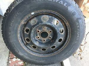 winter tire size 245/70 r17 with rims