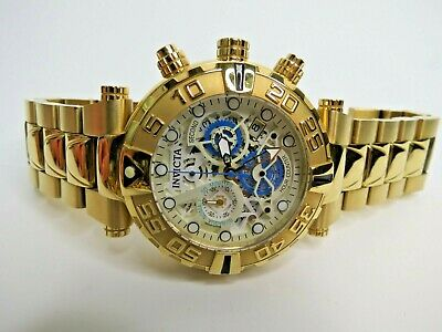 Invicta Subaqua Noma I Chronograph Watch Gold 24989 47mm