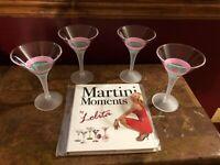 Lolita Coffee-tini Martini Glass Retired Rare Coffeetini Coffee Expresso