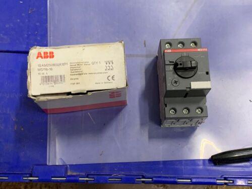 ABB Manual Motor Starter P/N MS116-16