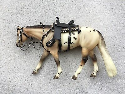 LSQ Breyer Horse Traditional Accessory Western Pleasure Tack Set Saddle Booker