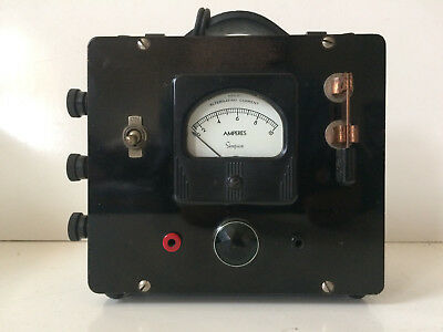Excellent Collectible Vintage Alternating Current Meter Hickok Model 57 Bakelite