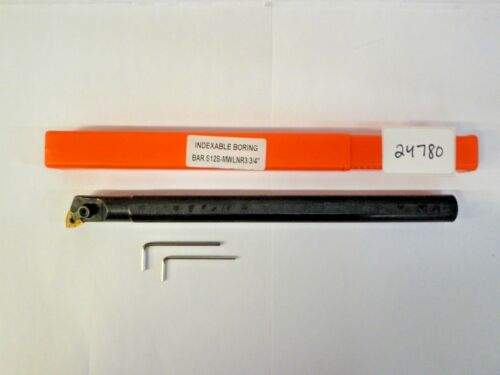 "3/4"" S12S-MWLNR3 INDEXABLE BORING BAR ***NEW*** PIC#24780"