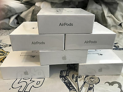 Apple AirPods - Ashen MMEF2AM/A Genuine Airpod - Sealed New Retail Box-Ship Fast