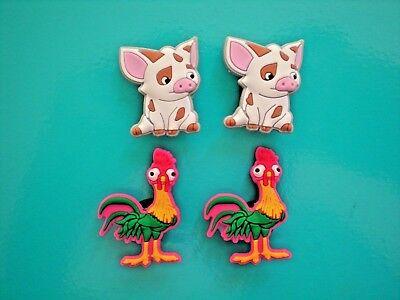 d817b64bc3595f Jibbitz Croc Clog Shoe Charm Plug Button Bracelet Accessories Chicken Pigs