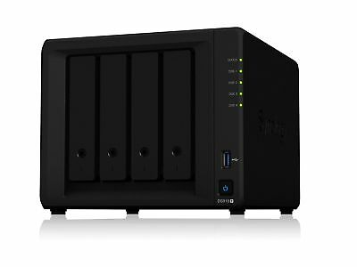 Synology Powerful and Scalable 4-bay NAS for Growing Businesses (ds918+)