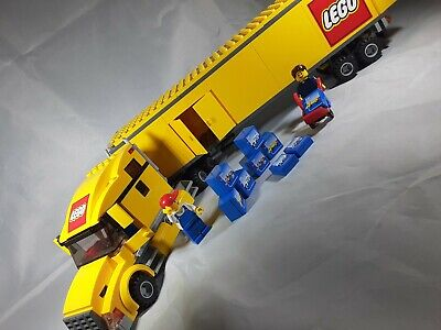 Lego 3221 Yellow Truck Complete