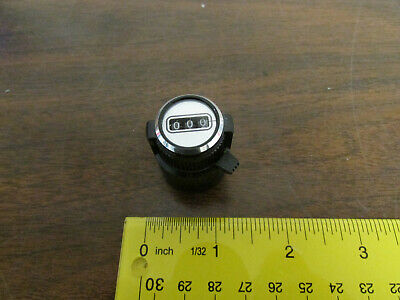 Bourns Ct-23 Potentiometer 3 Digit Counter Knob Nos