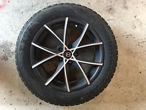 Mustang Winter Rims and Tires - Like New
