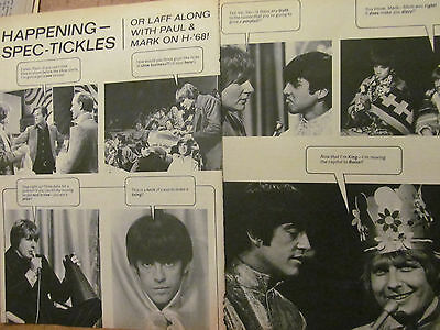 Paul Revere and the Raiders, Two Page Vintage Clipping