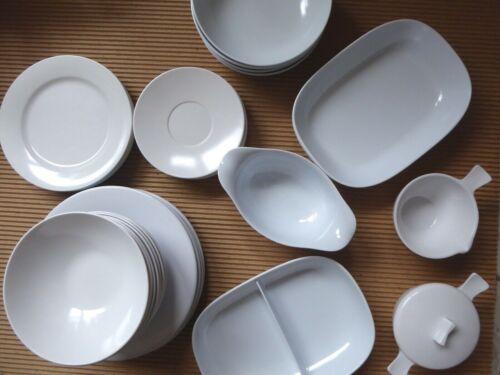 Lot 33 - Mixed White Melmac Melamine Texas-Ware Stetson Elan C&S Serving Gravy