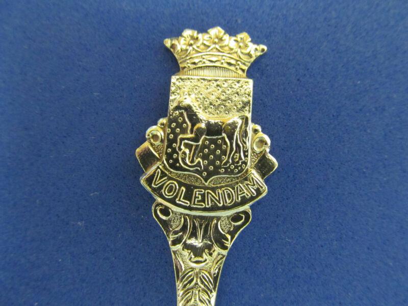 Vintage VOLENDAM HOLLAND Silverplate Souvenir Spoon