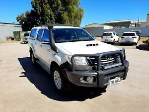 2013 Toyota Hilux Sr5 (4x4) 5 Sp Automatic Dual Cab P/up with extras