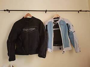 1 Man's and 1 Woman's Motorcycle jackets Bridgeman Downs Brisbane North East Preview