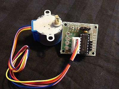 Stepper Motor 28byj-48 Test Module Board Uln2003 5 Line 4 Phase Arduino B4