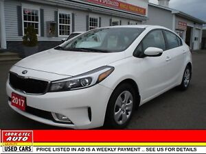 2017 Kia FORTE EX you're approved $66.21 a week tax inc. EX