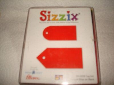 SIZZIX RED TAG SET DIE CUT 38-0236 VERY GENTLY USED EXCELLENT CONDITION