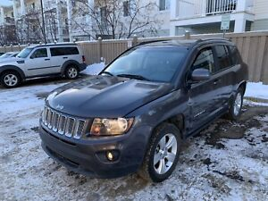 2016 Jeep Compass North 29Kms, Starter, 4X4, Leather $16,900 OBO