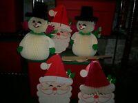 Santa Bear Christmas Tissues 2 packs of IHR Paper Pocket handbag Tissues