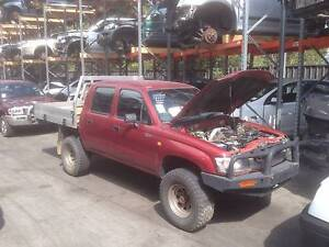 2003 Toyota Hilux, 4WD Dual Cab, 3.0L Diesel, NOW DISMANTLING Wollongong Wollongong Area Preview