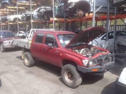 2003 Toyota Hilux, 4WD Dual Cab, 3.0L Diesel, NOW DISMANTLING