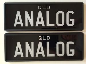Personalised number plates- NEW!