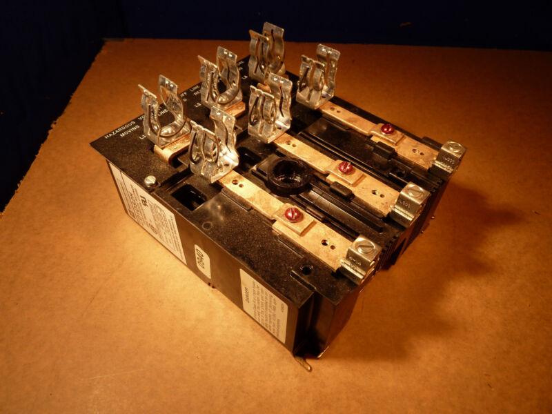 Telemecanique D10S2H DISCONNECT 600VAC 60 Amps [O-6]
