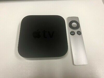 Apple TV (3rd Generation) MD199LL/A + Remote -Black