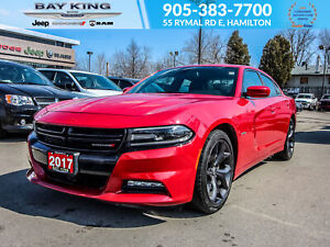 2017 Dodge Charger SUNROOF, APPLE CARPLAY, HEATED SEATS, 20 WHEE