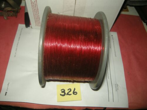 Magnet wire 18 MM enameled copper 5 pounds coil winding & craft red