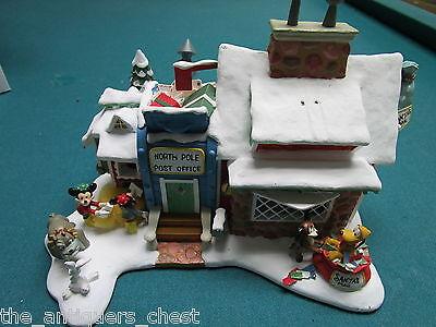 Danbury Mint WINTER WONDERLAND lighted North Pole Post Office NIB