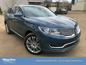 2016 Lincoln MKX Reserve | Heated/Ventilated Seats | Remote Star