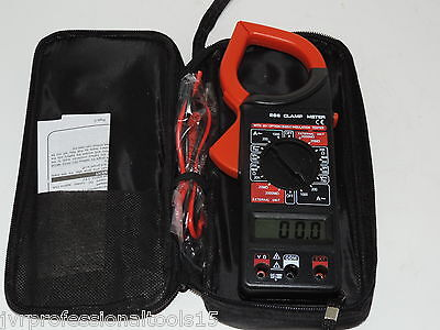 Acdc Current 1000amp Digital Clamp Meter Reader 1-34 Lcd W A 4 Digit Reading