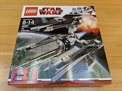 TIE DEFENDER Star Wars Lego 8087 STORMTROOPER /& PILOT MINT in box