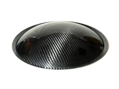 """12"""" inch (300mm) Carbon Fiber Subwoofer Dust Cap"""