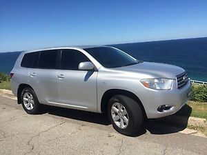Toyota Kluger Luxury 7 seats Low kms Auto Sydney City Inner Sydney Preview