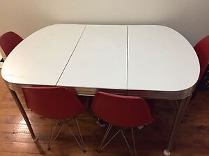 American diner style extendable kitchen table Greenwich Lane Cove Area Preview