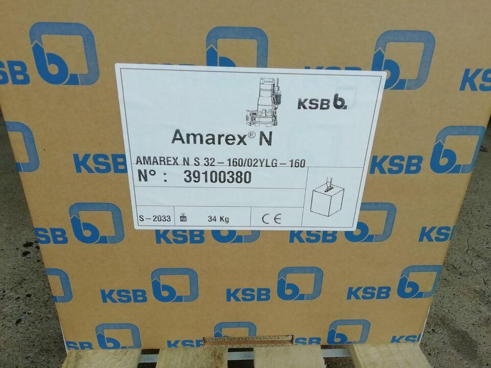 KSB Amarex Schneidradpumpe Abwasserpumpe Pumpstation Kläranlage in Vlotho