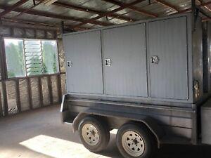 Tradesmen trailer