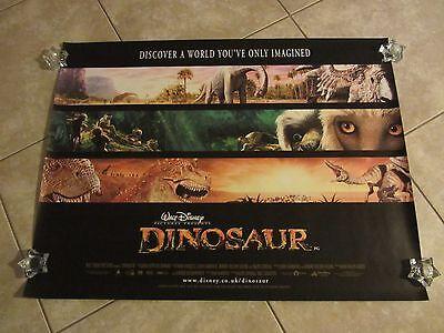 Walt Disney's Dinosaur movie poster - 30 x 40 inches - Original UK Quad
