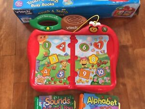 vTech Baby Touch & Teach Busy Books