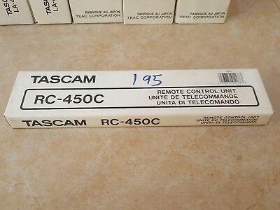 Tascam Remote Control - NEW TASCAM RC-450C REMOTE CONTROL UNIT